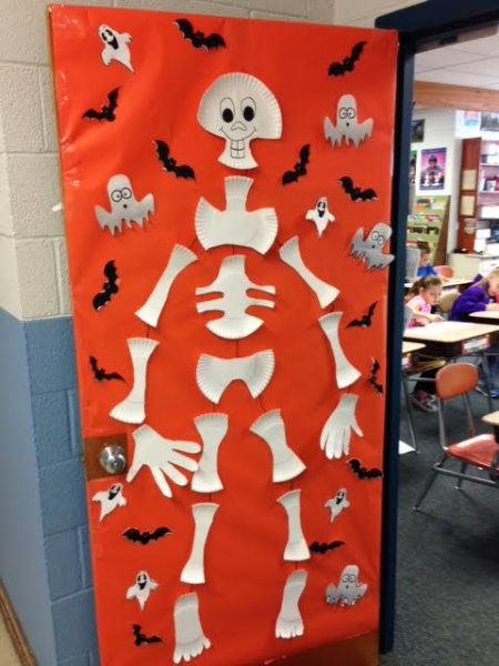 Goessel USD 411 - Halloween Door Decorations